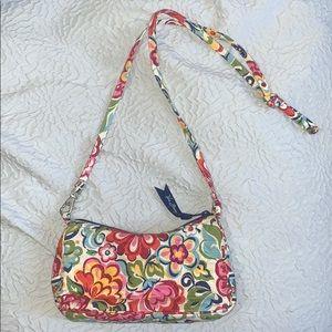 Vera Bradley Mini Floral Crossbody Purse Original